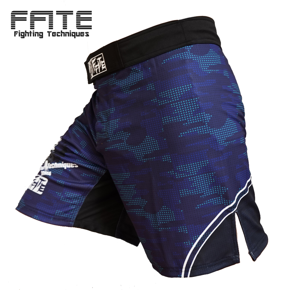 FFITE Pantaloni pentru bărbați de box MMA Shorts Fight Grappling Short Polyester Kick Gel Boxing Muay Thai Pantaloni Thai Boxing Shorts Mma
