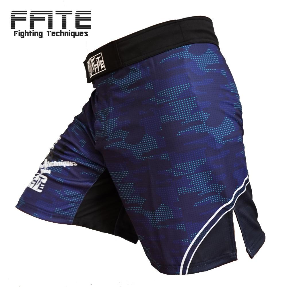 Мужские боксерские трусы MMA шорты для борьбы с напылением короткие полиэфирные кикгель для бокса Thai тайский бокс