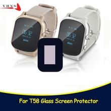 Glass Screen for Q50 Baby Kids Child elder Smart Watch Q50 T58 Y3 Smartwatch Glass Screen Protector