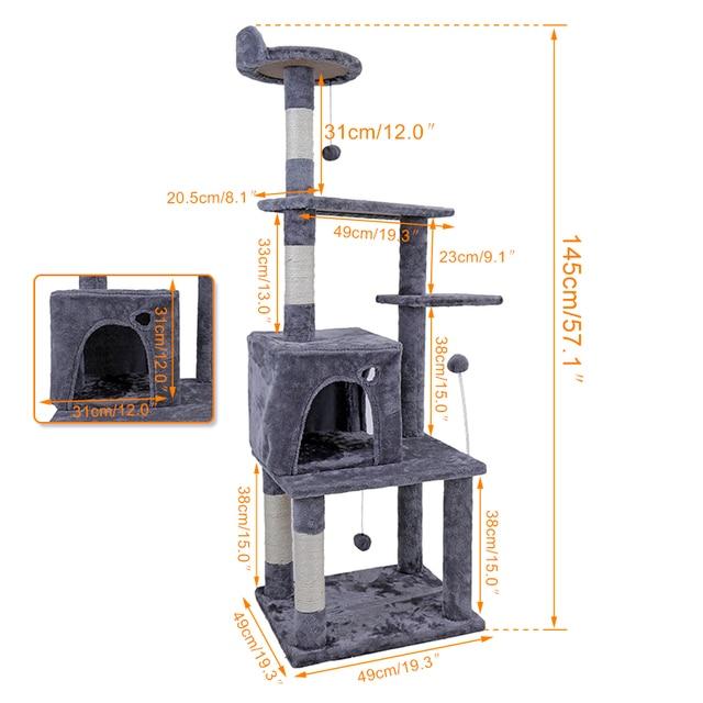 Cat Furniture Scratching Tree 5