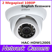 Dahua HDCVI dome camera HAC-HDW1200S 2 Megapixel 1080P Cost-effective IR HDCVI Dome Camera,free shipping