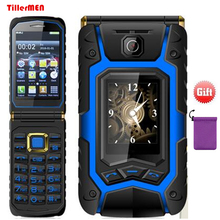 Land Flip cell rover X9 dual Screen dual SIM one-key call answer long standby touch screen Rugged senior mobile phone