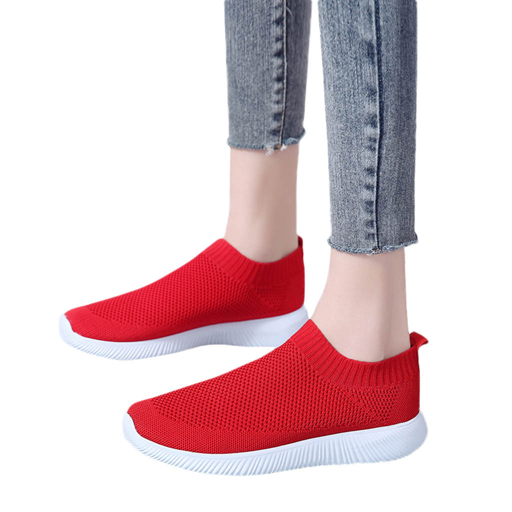 Youyedian 2019 Solide Frauen Outdoor Mesh Einfarbig Schuhe Atmungsaktive Schuhe Turnschuhe Sapatilhas Mulher Sapatilhas Normais # G30 Frauen Schuhe