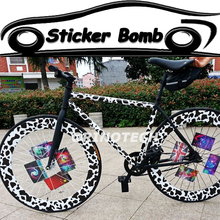Car Styling Sticker Bomb Vinyl Wrap Bombing Graffiti For Truck Motorcycle Body Wrapping Covers