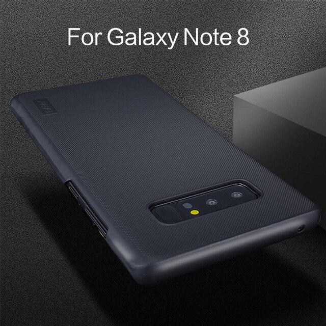 Siêu Mỏng Chống-trượt Cover Quay Lại Trường Hợp đối Với Samsung Galaxy Note 8 Trường Hợp 360 Bảo Vệ Đầy Đủ cho Samsung Lưu Ý 8 Trường Hợp điện thoại cho Phụ Nữ