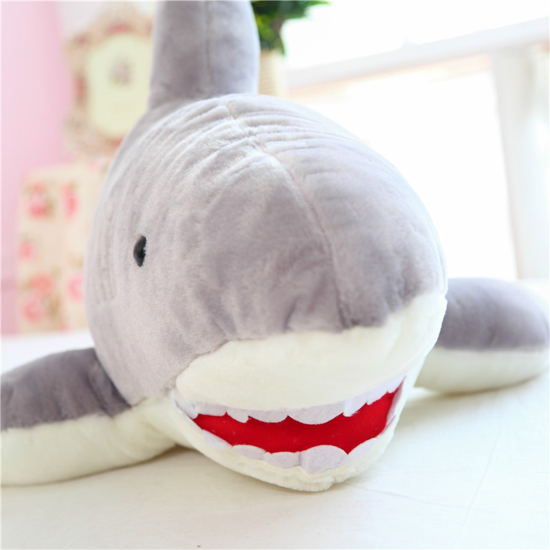 New Coming 100cm/1m Super Likable Shark Plush Toy For Girl Friend Funny Toy For Gift For Childrens Day For Kids