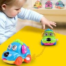 Милая мультяшная собака заводные игрушки машина для бега Классическая