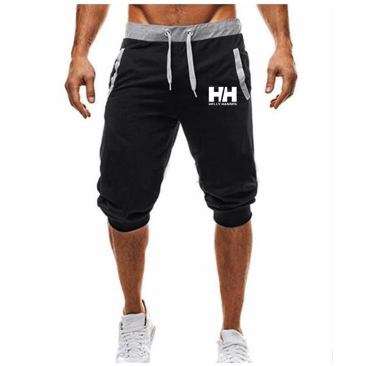 2019 heier-Verkauf Sommer Neue Mann der   Shorts   Casual   Shorts   Mode HELLY HANSEN drucken Jogginghose Fitness Kurze Jogger M-3XL