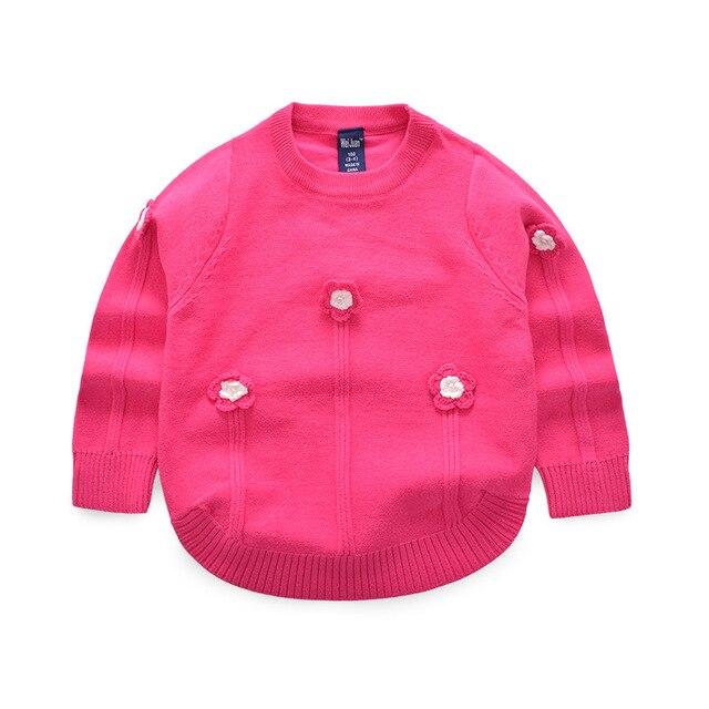 Blume Baby Mädchen Strickjacken Süße Strick Kinder Pullover Pullover ...