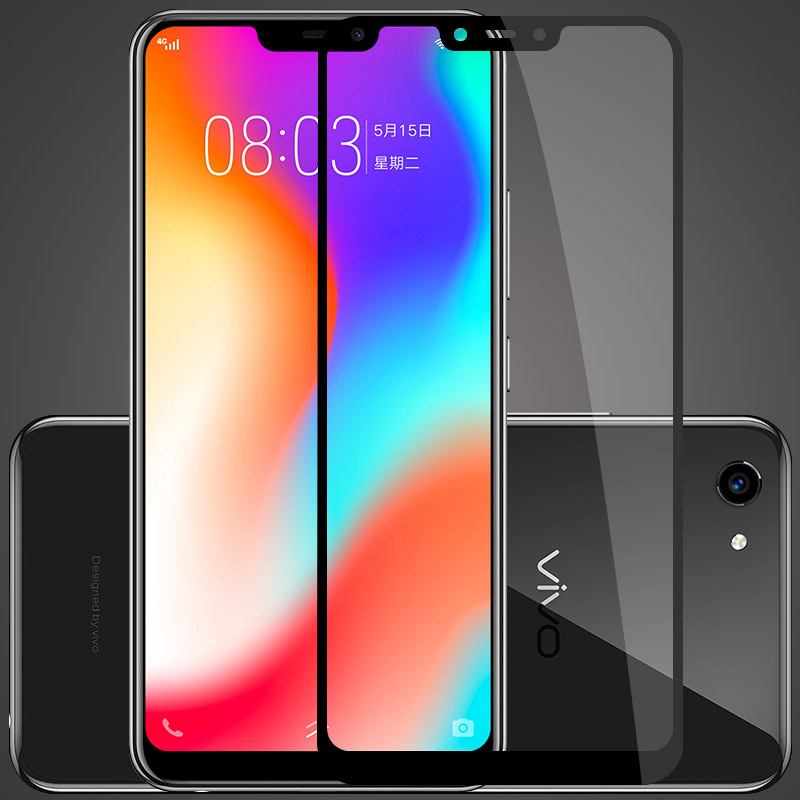 JIN Screen Protector 25 PCS AG Matte Anti Blue Light Full Cover Tempered Glass for Huawei P30 Lite