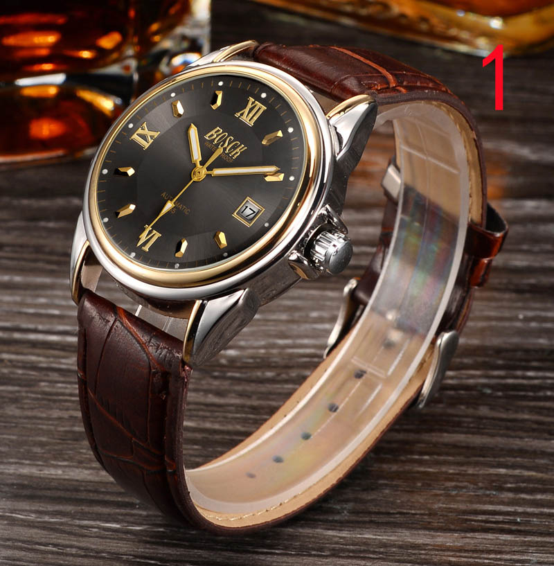 Tourbillon automatic mechanical watch men's watch steel waterproof leather belt hollow luminous square casual men's watch