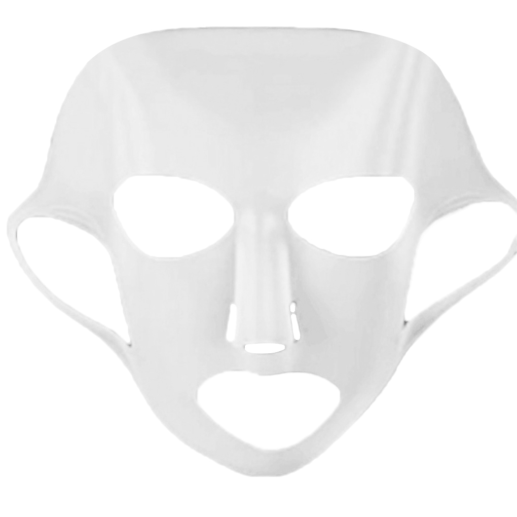 Brand New 1PC Silicone Face Mask Reusable Facial Cover Ear Makeup Moisturizing Hydrating Makeup Mask