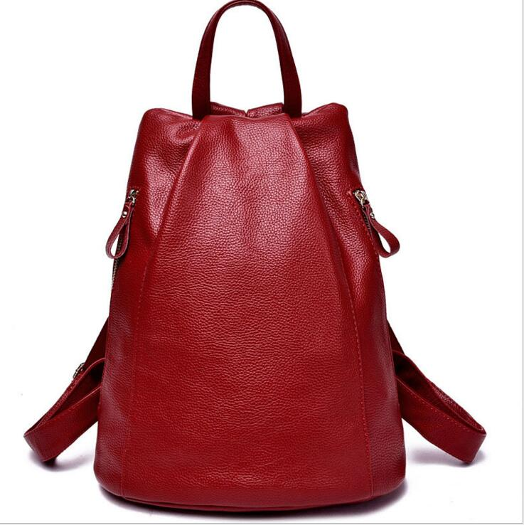ФОТО new! Fashion classic brand women bag high quality girl backpack schoolbag shoulder bag small backpack style female Anti-theft