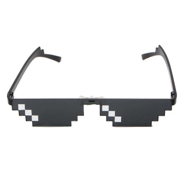 a554d783e Legal 3 Pouco Pixelizada Óculos De Sol Lidar Com Isso Óculos MLG Mosaico  óculos de Sol
