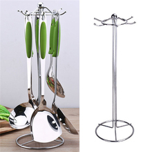 Mrosaa 42cm Stainless steel Kitchen Stands Utensils Sailing Cutlery Holder kitchenware Knife knives Spoon Spatula Rack Storage