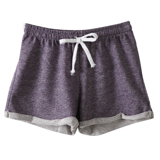 Cotton Casual Fitness Women Shorts