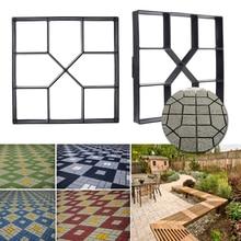 Manually Paving Mold Road Mould Garden Tools 40cm Square Paver DIY Brick