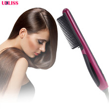 Fast Safe Hair Straightener Anti static Ceramic Straightenin
