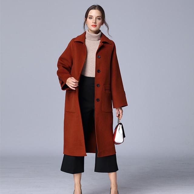 Aliexpress.com : Buy Fashion Coat 2017 Cashmere Coat Autumn Winter ...