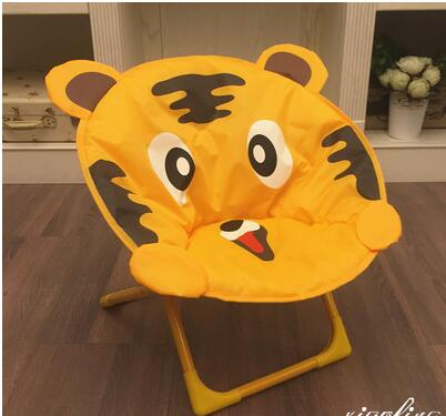 Children's moon chairs. Cartoon small stool. Baby chair. Folding back chair. Portable outdoor beach chair. кошелек small beach