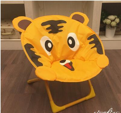 Children's Moon Chairs. Cartoon Small Stool. Baby Chair. Folding Back Chair. Portable Outdoor Beach Chair.