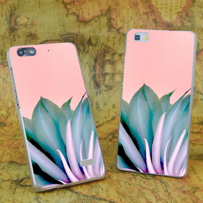 E0492 الغموض الجمال شفافة الصلب رقيقة جراب هاتف جلد لهواوي P 6 7 8 9 لايت زائد الشرف 6 7 4C 4X G7
