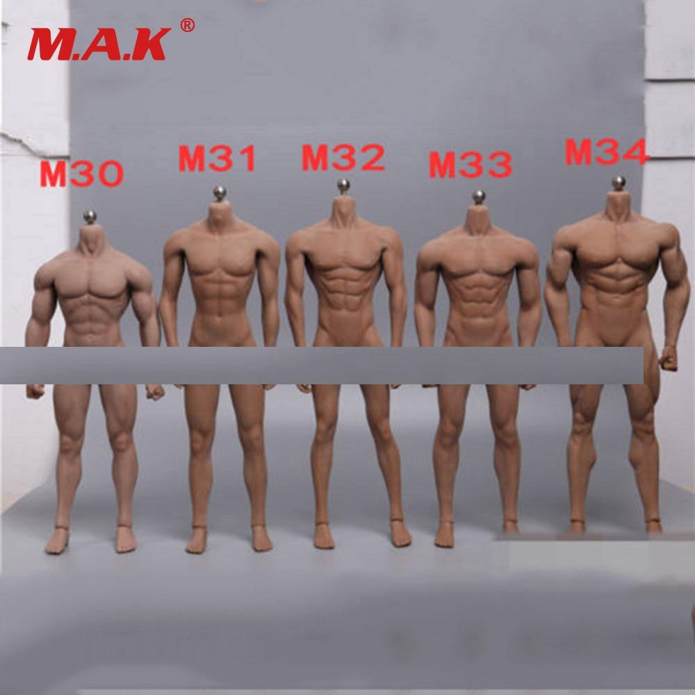 1/6 Scale Super-Flexible Male Body Figure M30 M31 M32 M33 M34 Suntan Man Seamless Body 1/6th Steel Stainless Skeleton Doll Model alcasta m31 6 5x15 5x114 3 d66 1 et43 wrs