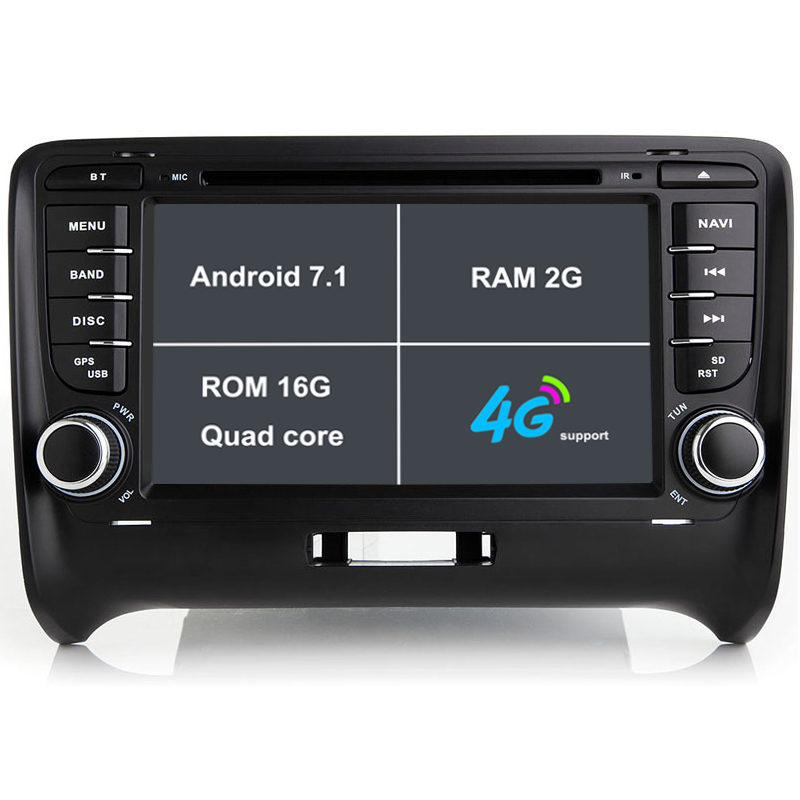 Android 7 1 font b Car b font DVD Player For Audi TT 2006 2012 font