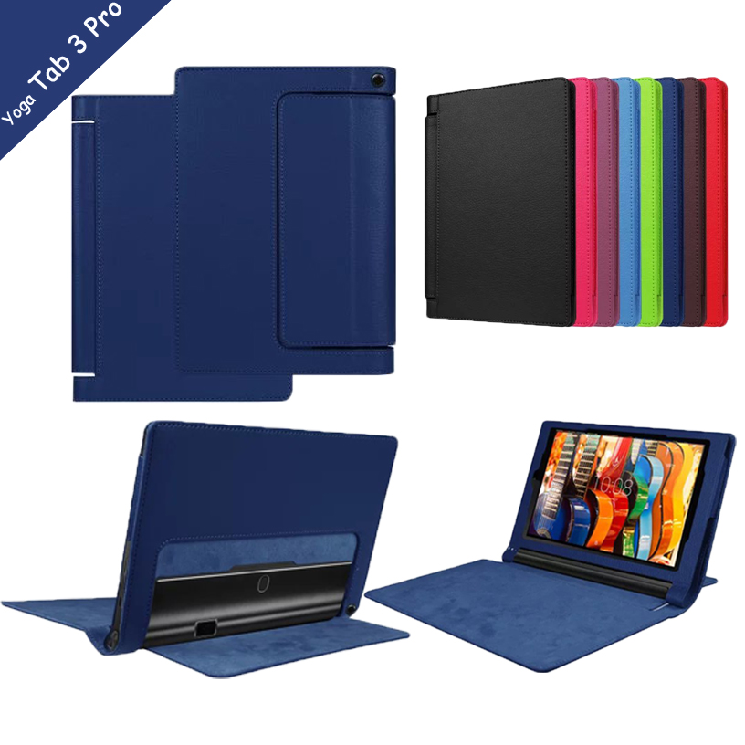 10 PRO X90 Litchee Pattern Tablet Case for Lenovo Yoga Tab 3