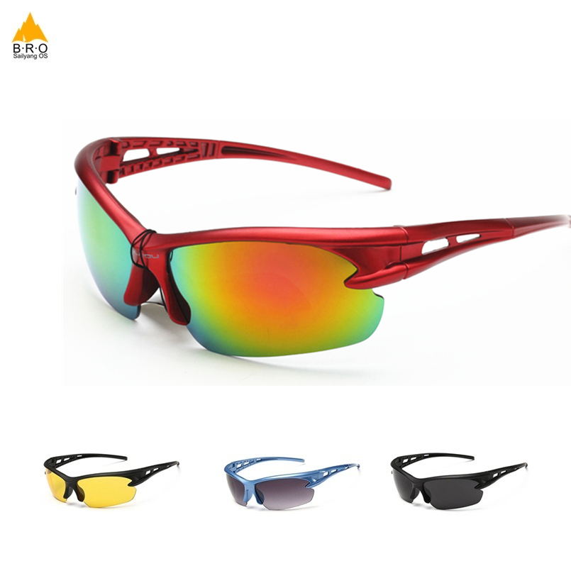 Cycling Glasses Sports Motorcycle  Riding Running UV Protective Bicycle Goggles Sunglasses Eyewears For Men Women 12 Color