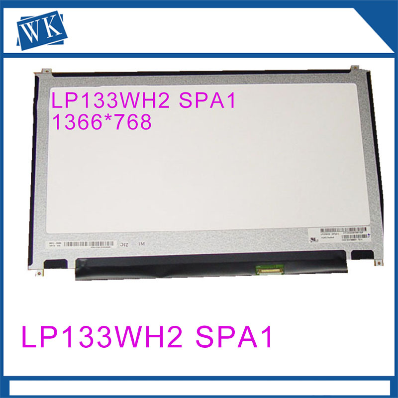 Original NEW 13.3 inch LP133WH2 SPA1 30 pin eDP Laptop IPS LED LCD Screen Display 1366*768 WXGAOriginal NEW 13.3 inch LP133WH2 SPA1 30 pin eDP Laptop IPS LED LCD Screen Display 1366*768 WXGA