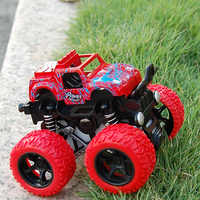 Monster Truck Durable Toys Car Kids Anti Shock 360 Degree Flipping Gift Vehicles Outdoor Inertia Easy Operate Friction Powered