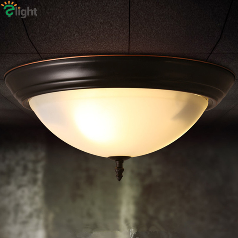 American Retro Iron E27 Led Ceiling Lights Lustre Glass Bedroom Led Ceiling Lamp Balcony Led Ceiling Lighting Light Fixtures american retro iron e27 led ceiling lights lustre glass bedroom led ceiling lamp balcony led ceiling lighting light fixtures