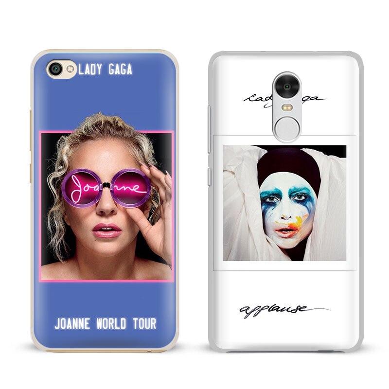 Lady JOANNE GAGA Fashion Cool Cover Shell For Xiaomi Redmi Note 2 3 4 4X 5A Pro Mi 4 5 5S Plus 5X 6 MiA1 Minote 2 3 Phone Case
