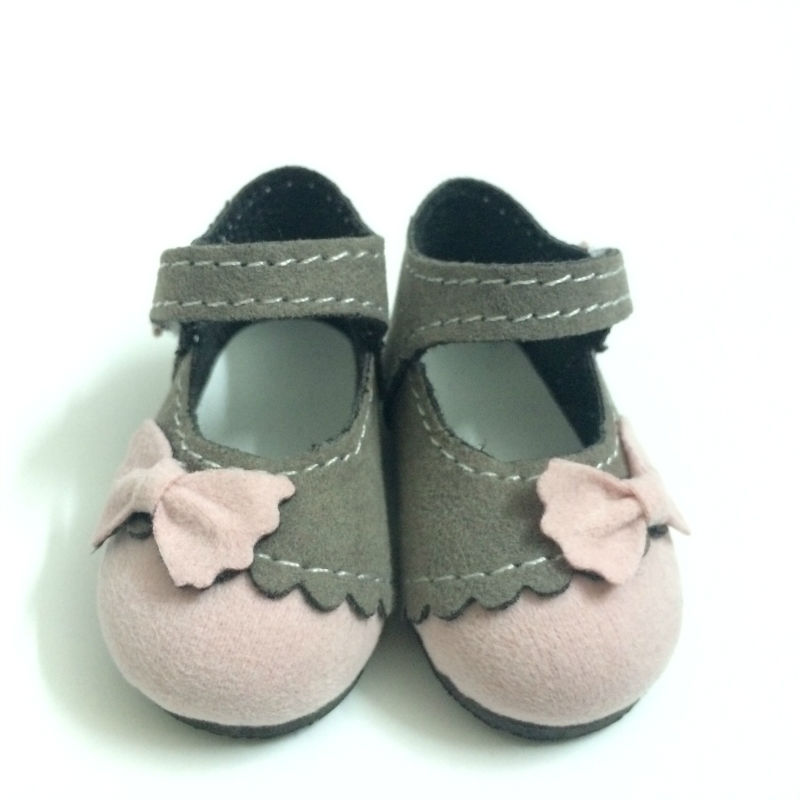 One Pair 6CM BJD Doll Shoes Causal Sneakers Shoes for Paola Reina Dolls,Mini Toy Boots with Bow,Fashion Dolls Accessories handmade chinese ancient doll tang beauty princess pingyang 1 6 bjd dolls 12 jointed doll toy for girl christmas gift brinquedo
