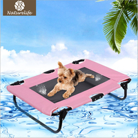 Naturelife Summer Outdoor Dog Bed Breathable Coolaroo Dog Kennel Portable Cool Pet Bed for Dog and Cat Dog House Drop shipping