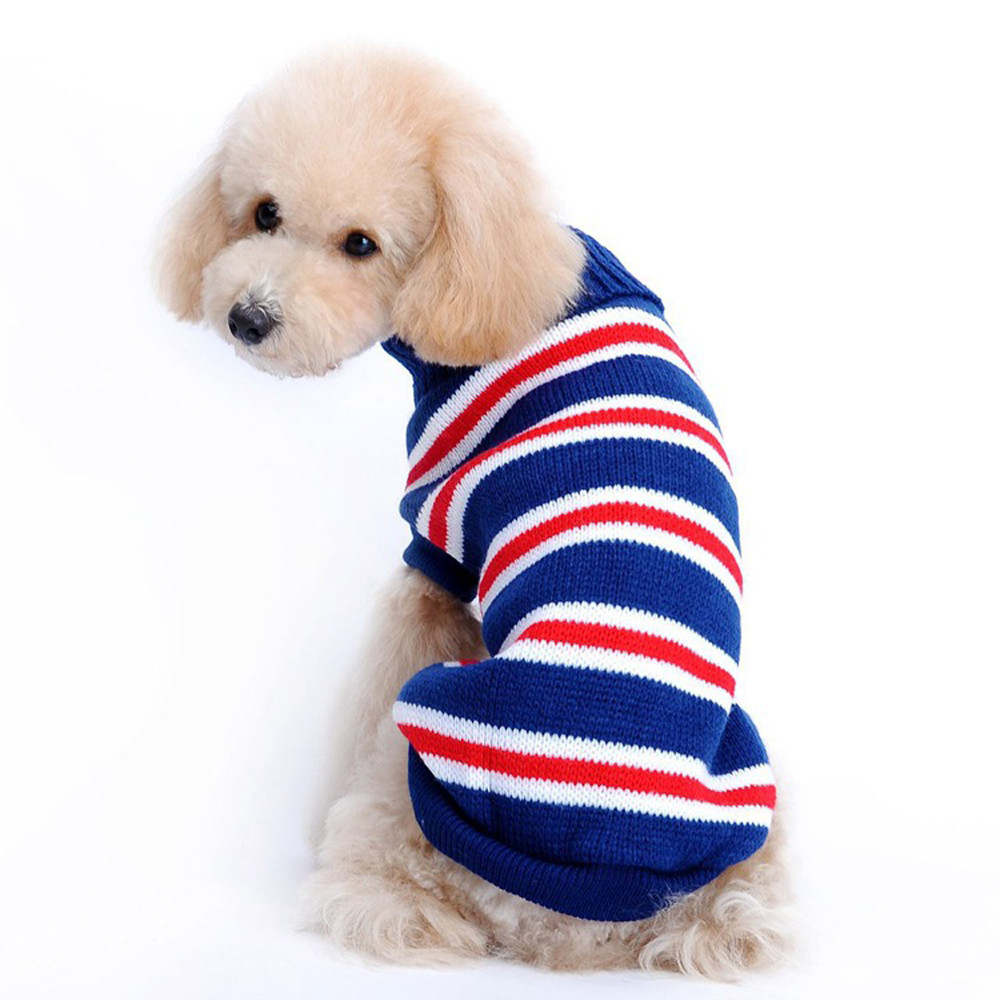 Dog Clothes For Small Dogs Pet Products Clothing Autumn Winter Fashion Comfortable Pet Clothes Festival Dress Sweater Knitwear