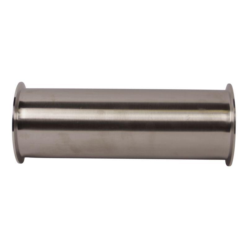 Ev Dekorasyonu'ten Boru Bağlantı Parçaları'de Ücretsiz kargo 4 ''(102mm) Sıhhi Paslanmaz Çelik üçlü kelepçe geçme burç Biriktirme  uzunluk 12'' title=