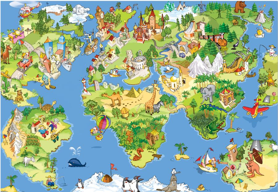 can be customized art large murals 3D room wallpaper wall decor baby kids bedroom Tv sofa cartoon animal world map fabric fresco acupuncture and moxibustion chinese medicine book 2nd edition bilingual textbook chinese