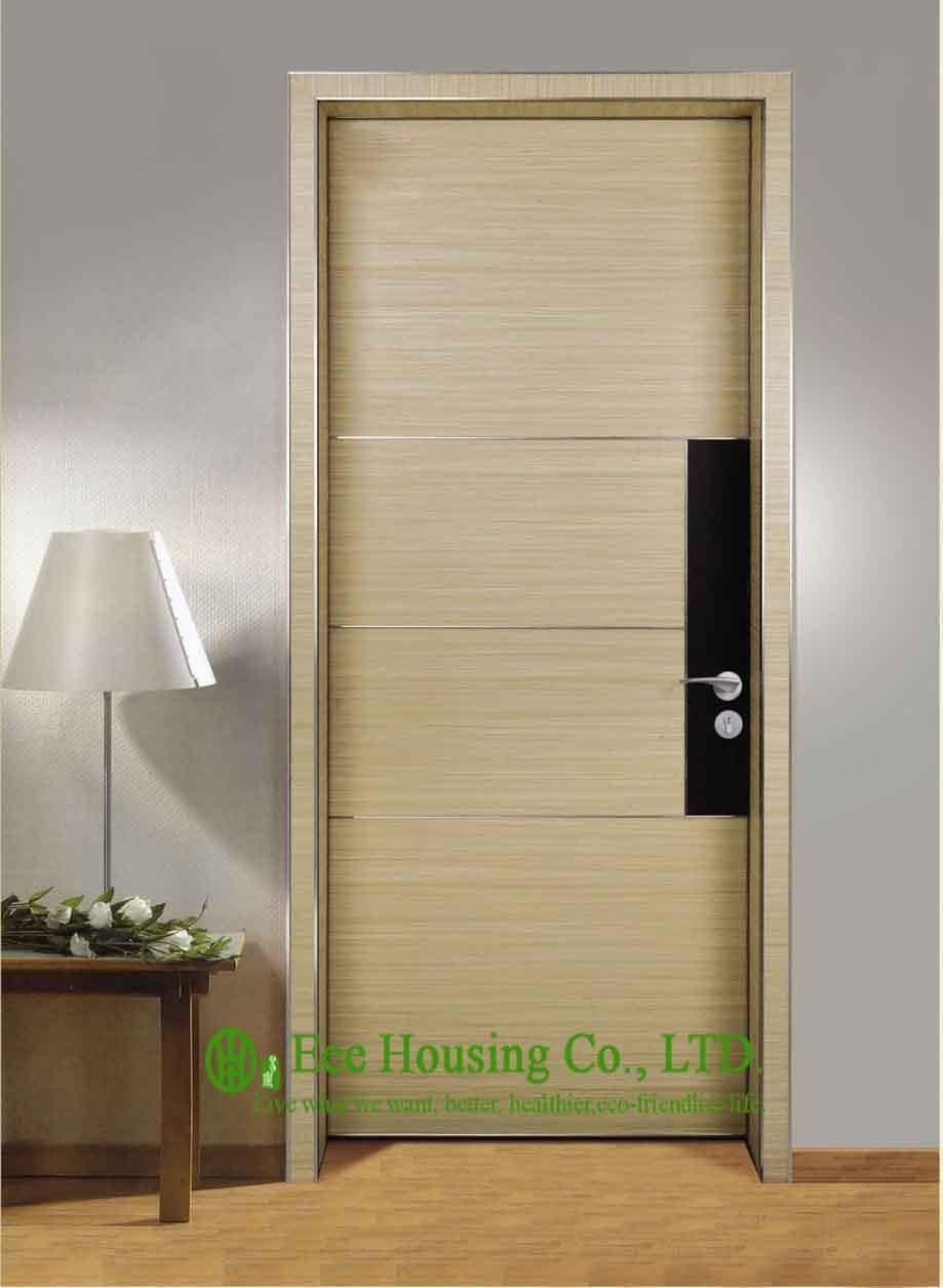 Office Door With Modern Design,Moisture-proof Aluminum Frame Interior Office Door For Sale