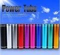 De aluminio de moda del Lápiz Labial 3000 mAh Banco de la Energía de Reserva Portable de Batería Externa cargador Móvil Del USB fuente de Alimentación Móvil