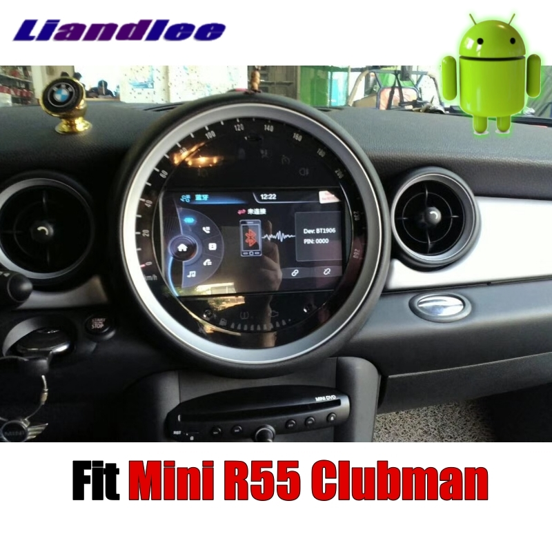 Sale Liandlee Car Multimedia No DVD Player NAVI For Mini Clubman R55 2007~2014 Android system Car Radio Stereo GPS Map Navigation 3