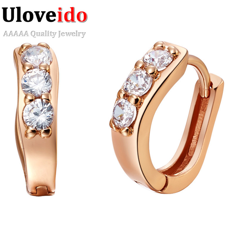 Aliexpress.com : Buy 15% Off Rose Gold Color Earrings for ...