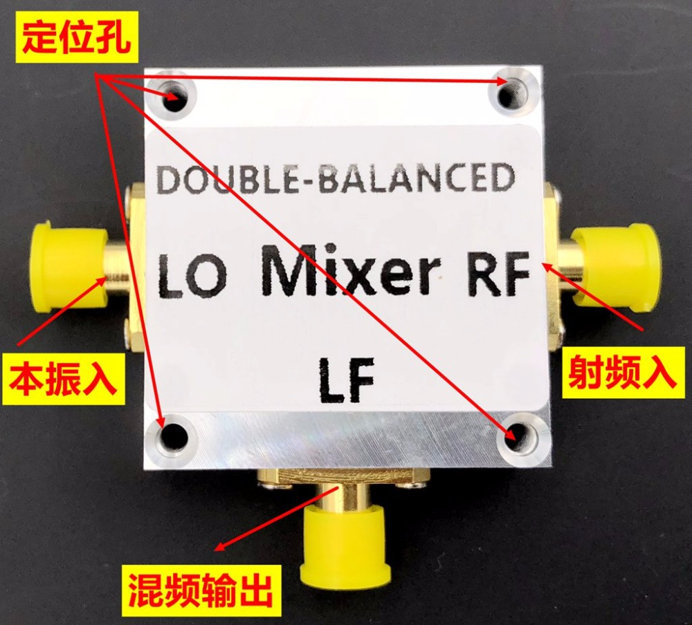 US $28 79 10% OFF|1PC HMC412 module passive mixer 8 16GHZ RF input DC  2 5GHZ output CNC housing-in Earphone Accessories from Consumer Electronics  on