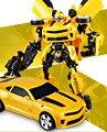Трансформация Шмель Автоботов Робот Автомобиля Мальчики Дети Фигурки Minifigure Игрушка в Подарок