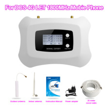Top quality! new 2g 4g cell phone signal booster 1800 with stick antenna and penholder antenna using for home