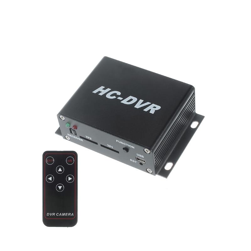 Mini DVR H.264 720P 720P/VGA/QVGA Video Recorder Dual 64GB TF Cards Real time video Record 720P HDMI output Remote control new tf micro sd card mini dvr video recorder support dual 32gb tf cards real time video record motion detection vga 640 480