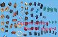 Таможенная служба Оптовая электронных компонентов Комплект bomlist компоненты упаковка professionalparts Оригинальный IC Диод, Резистор и т. д.
