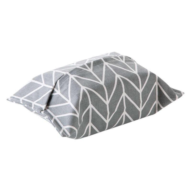 Algodão, linho saco carro saco de papel toalha de pano caixa de tecido caixa de papel