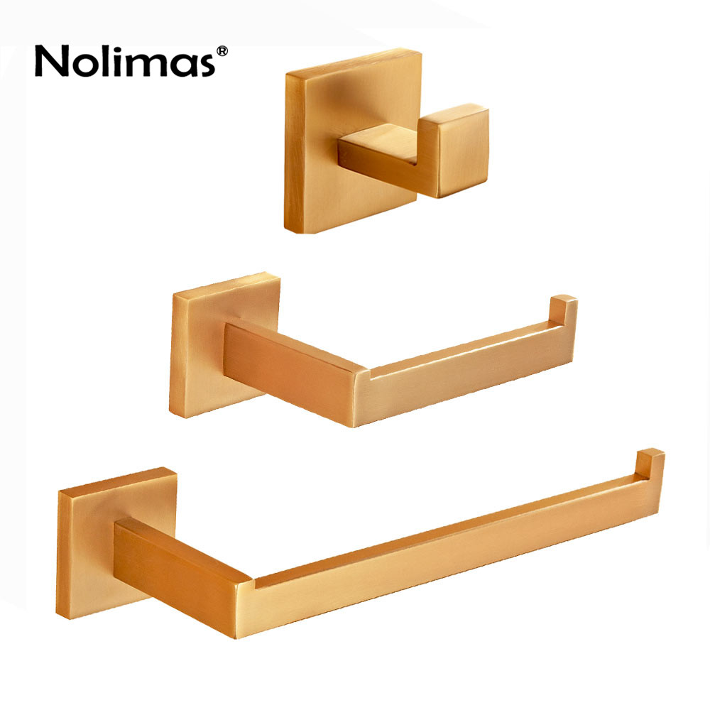 New Arrival SUS 304 Stainless Steel Gold Brushed Nickel